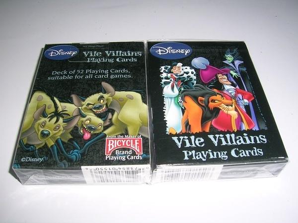 【USPCC撲克館】Vile Villains撲克牌(1付裝)