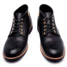日本圓頭查卡中筒靴#22236黑 -AR...