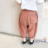 防蚊褲 女童防蚊褲2019夏季新款兒童棉質寬鬆長褲寶寶薄款洋氣燈籠褲 3色