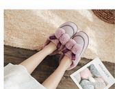 棉拖新款秋冬時尚厚底棉拖鞋女包頭女士毛毛鞋子防滑外穿  凱斯盾數位3c