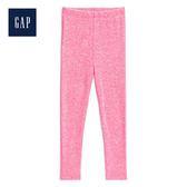 Gap女幼童 舒適鬆緊腰緊身長褲497561-淺色粉