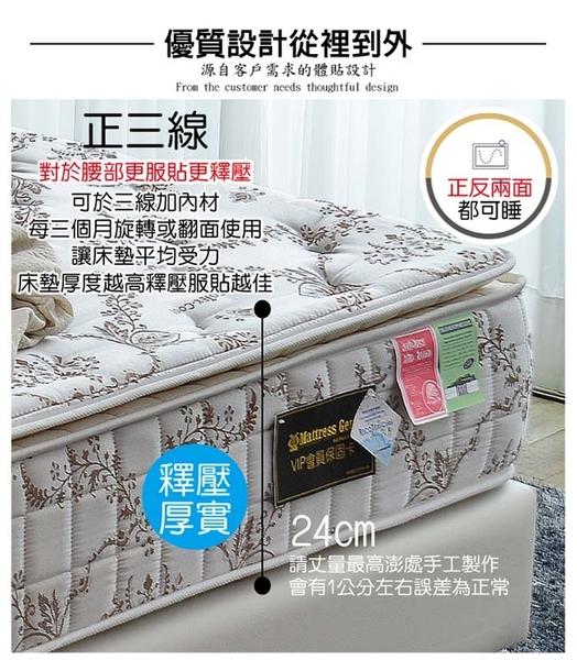 床墊 獨立筒-Ally愛麗-正三線-智慧涼感-抗菌蜂巢獨立筒床-單人3.5尺-$6500-新竹以北免運