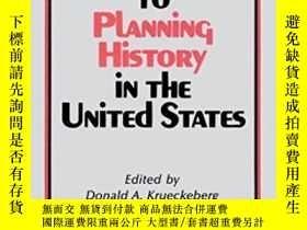 二手書博民逛書店Introduction罕見To Planning History In The United StatesY