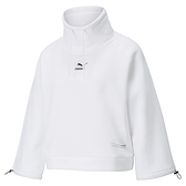 PUMA Interstellar 女款白色微高領長袖上衣-NO.53029902