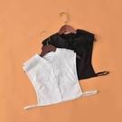 假領子襯衫穿搭假領片 雪紡紗針織衫大學T外套[E1691]滿額送愛康衛生棉預購女裝上衣.朵曼堤洋行