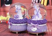 全館超增點大放送雪花情人節送女朋友禮物情侶八音盒生日禮物女孩音樂盒兒童水晶球