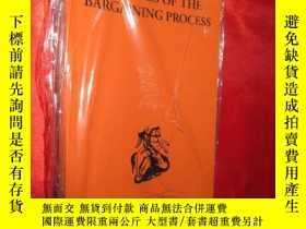 二手書博民逛書店THEORIES罕見OF THE BARGAINING PROC