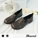 樂福鞋 簡約圓頭樂福鞋 MA女鞋 T3522