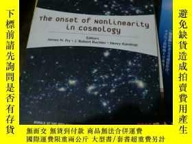 二手書博民逛書店the罕見onset of nonlinearity in co