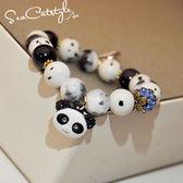 手鍊-小熊貓手鍊手串手鐲女可愛鐘錶手鍊 聖誕節禮物大優惠