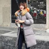 工廠批發價不退換防風保暖2018新款羽絨服棉衣女修身中長款寬松大碼棉服外套棉襖潮學生(1056A)