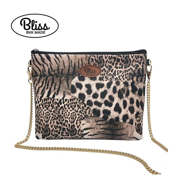 【現貨在台】泰國Bliss BKK包 拼接豹紋 4款背帶可選 現貨供應中