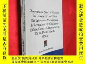 二手書博民逛書店Observations,罕見Sur La Nature: Le