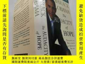 二手書博民逛書店THE罕見AUDACITY OF HOPE(無畏的希望)外文版Y