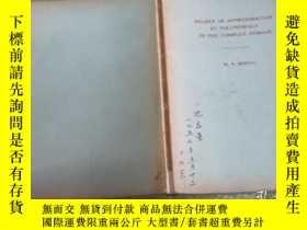 二手書博民逛書店Degree罕見of approximation by poly