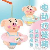 發光手提豬年燈籠 2019新年新款 音樂燈光慶新春兒童地攤玩具   color shopYYP   color shop