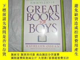 二手書博民逛書店GREAT罕見BOOKS FOR BOYS:More than