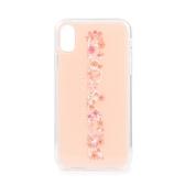 COACH 花卉圖案iphone XR手機殼(粉紅色)198442