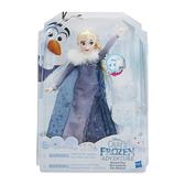 【Hasbro 孩之寶】冰雪奇緣雪寶的佳節冒險-歡唱艾莎 HC2539