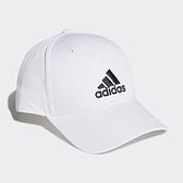 【三月NEW】adidas Baseball Cap 白 黑 男女款 老帽 棒球帽 運動休閒 帽子 FK0890