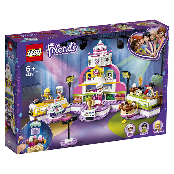 樂高積木 LEGO《 LT41393 》Friends 姊妹淘系列 - Baking Competition╭★ JOYBUS玩具百貨