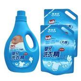 培寶 嬰兒洗衣精促銷組合 2000ml+1800ml*2【德芳保健藥妝】