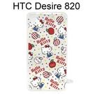 Hello Kitty 透明軟殼 [藍] HTC Desire 820 820 dual sim, 820G+ 820s dual sim【三麗鷗正版授權】