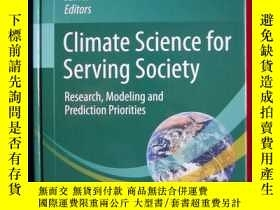 二手書博民逛書店Climate罕見Science for Serving Soc