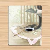 創意古風鼠標墊藝術插畫唯美清新加厚鎖邊  hh3469『時尚玩家』
