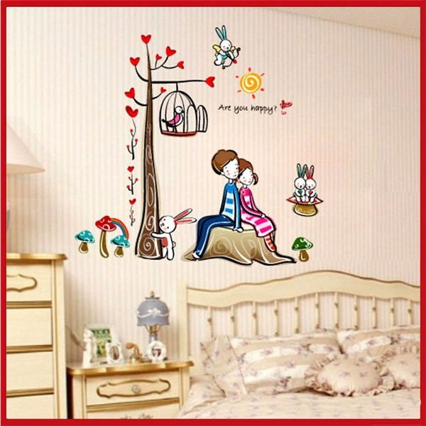 壁貼--浪漫愛情樹 AY924-089【AF01013-089】i-Style居家生活