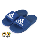ADIDAS 愛迪達 ADILETTE COMFORT K 拖鞋 中童鞋 藍色 NO.R5716