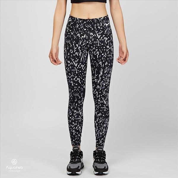 Nike W Power Legendary Tight 女子 印花 中腰 訓練 緊身褲 803019-100