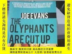 二手書博民逛書店The罕見Olyphants Are Cut Up (Paper