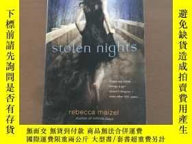 二手書博民逛書店Stolen罕見Nights(英文原版)Y5375 Rebecc