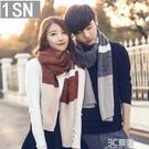 冬季男女士新款韓版學生毛線情侶圍巾保暖年輕人圍脖針織百搭潮流 3C優購
