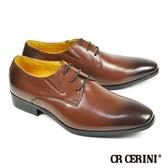 【CR CERINI】漸層染真皮質感紳士鞋 咖啡(79072-DBR)