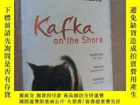 二手書博民逛書店英文原版正品罕見Kafka on the Shore 村上春樹名