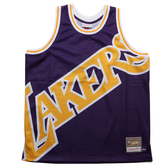 MITCHELL & NESS M&N 湖人 紫黃 背心 BIG FACE 球衣 (布魯克林) MN20AJE01LAL