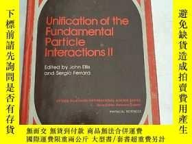 二手書博民逛書店unification罕見of the fundamental