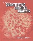 二手書博民逛書店 《Quantitative Chemical Analysis, Sixth Edition》 R2Y ISBN:0716744643│Macmillan