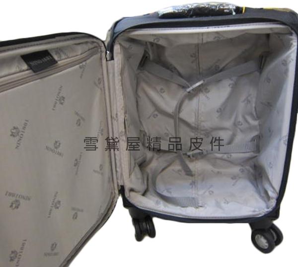 ~雪黛屋~18NINO81 17吋拉桿箱商務型可加大台灣製造品質保證360度雙飛機輪靈活旋轉輕量型U8529
