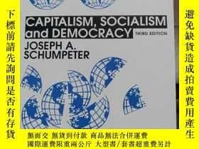 二手書博民逛書店Capitalism,socialism罕見and democr