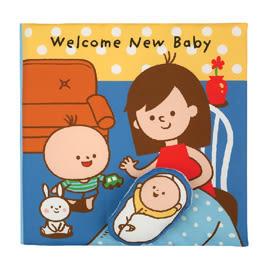K's Kids 迎接第二個寶貝! Welcome New Baby(英文布書)