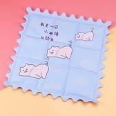 坐墊凝膠床墊制冷涼席單雙人寵物夏降溫神器學生宿舍冰水床墊 pinkq時尚女裝