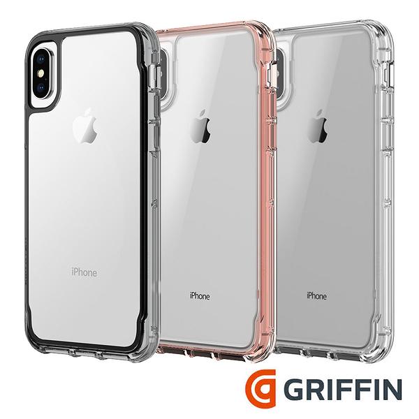 Griffin Survivor Clear iPhone Xs / iPhone X 透明軍規防摔保護殼