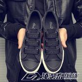 一腳蹬懶人休閒帆布鞋韓版潮流透氣男鞋子   潮流前線