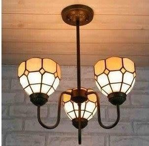 設計師美術精品館歐式燈飾 帝凡尼吊燈 彩色玻璃吊燈 餐廳吊燈具 陽光聚餐