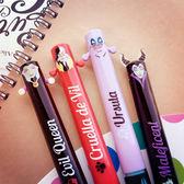 PGS7 日本迪士尼系列商品 - 迪士尼 反派 角色 造型 雙色原子筆 原子筆 雙色筆 筆【SHJ6423】