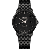 MIDO美度 BARONCELLI HERITAGE 潮黑復刻機械腕錶 M0274073305000