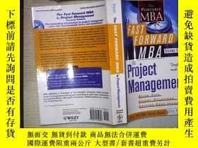 二手書博民逛書店THE罕見FAST FORWARD MBA (01)Y18089